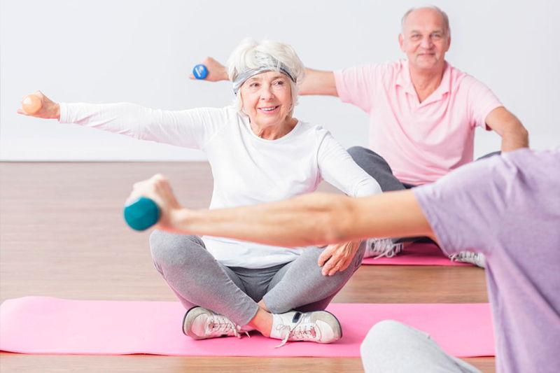 Картинки с упражнениями для пожилых